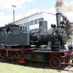 Dampfzugshuttle 70 083 Augsburg HBF - Bahnpark Augsburg