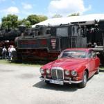 Historischer RR und Dampflok