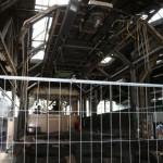 Gläserner Zug Restaurationsarbeiten